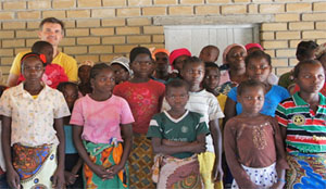 Mozambique - Home for AIDs orphans